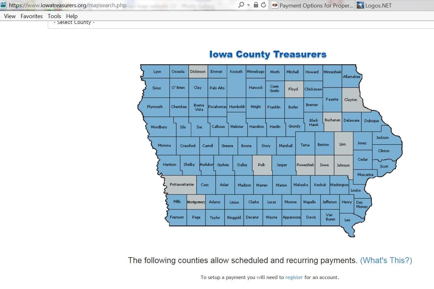 Iowa Map of Counties and how to Video link